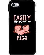 Easily Distracted By Pigs Phone Case thumbnail