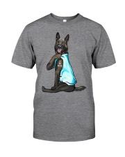 German Shepherd Dog I Love Mom Classic T-Shirt front