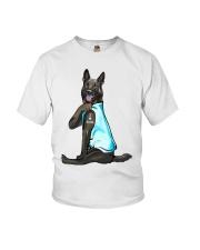 German Shepherd Dog I Love Mom Youth T-Shirt thumbnail