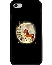 Horse and moon Phone Case thumbnail