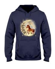 Horse and moon Hooded Sweatshirt thumbnail