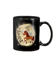 Horse and moon Mug thumbnail