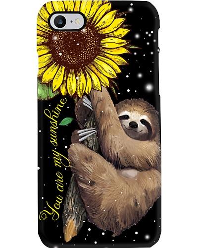 Sloth You Are My Sunshine Phonecase