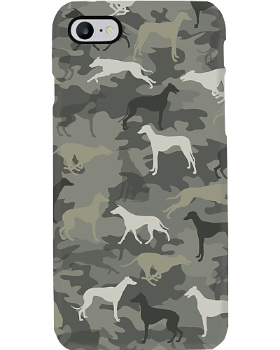 Greyhound Camouflage Phonecase