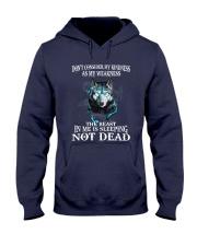 The beast in me is sleeping not dead Hooded Sweatshirt thumbnail