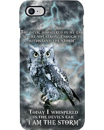 Owl Storm Phonecase