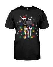 Cow Light Xmas Classic T-Shirt front