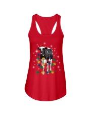 Cow Light Xmas Ladies Flowy Tank thumbnail