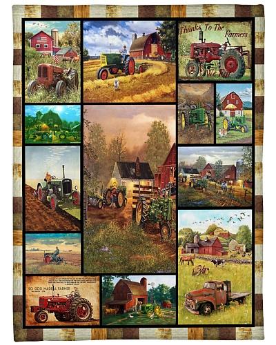 Tractor Funny Blanket Farmer Graphic Design