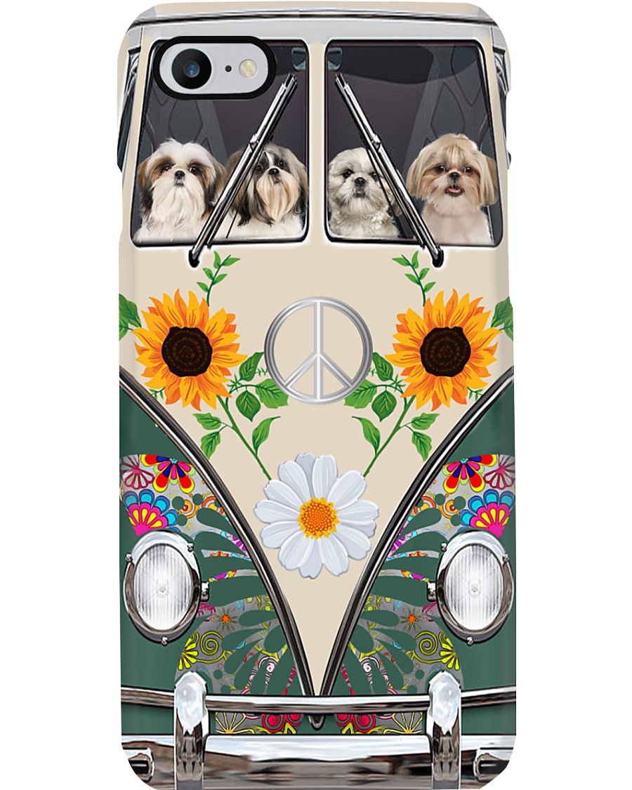 Shih Tzu Peace Love Phone Case