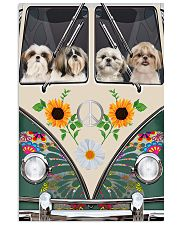 Shih Tzu Peace Love Vertical Poster tile