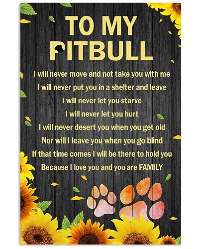 To My Pitbull