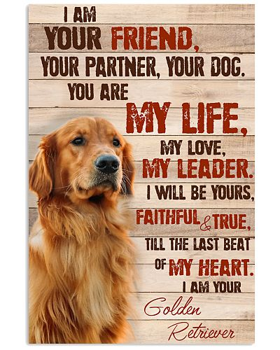 Golden Retriever  I Am Your Friend