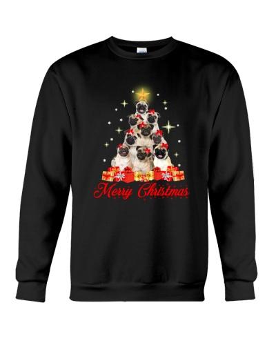 Pug Tree Christmas