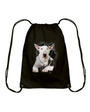 Bull Terrier Beauty Drawstring Bag thumbnail