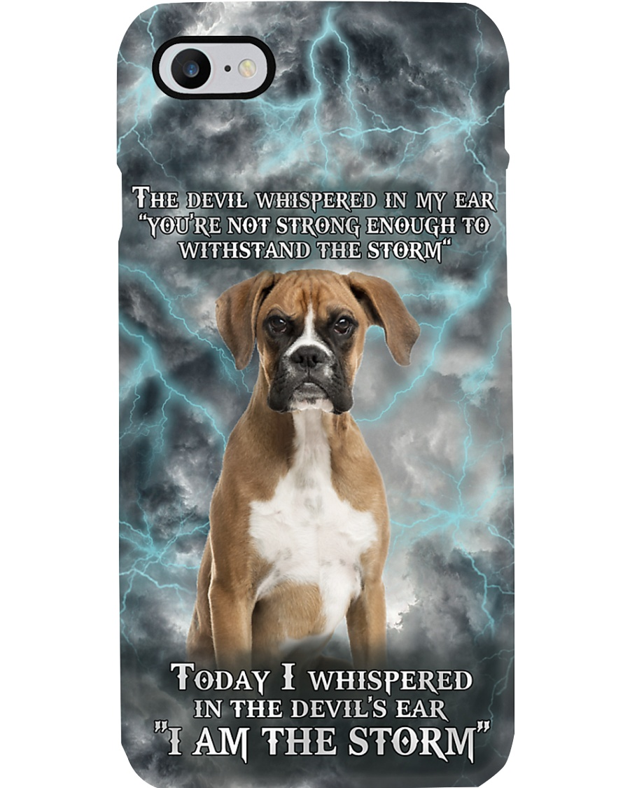 Boxers I Am The Storm Phonecase Phone Case