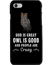 Owl is Good Phone Case tile