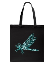 Dragonfly Ruby Tote Bag tile