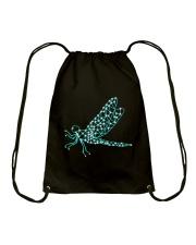 Dragonfly Ruby Drawstring Bag thumbnail