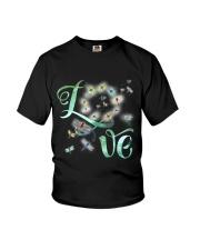 Dragonfly  Love Youth T-Shirt thumbnail
