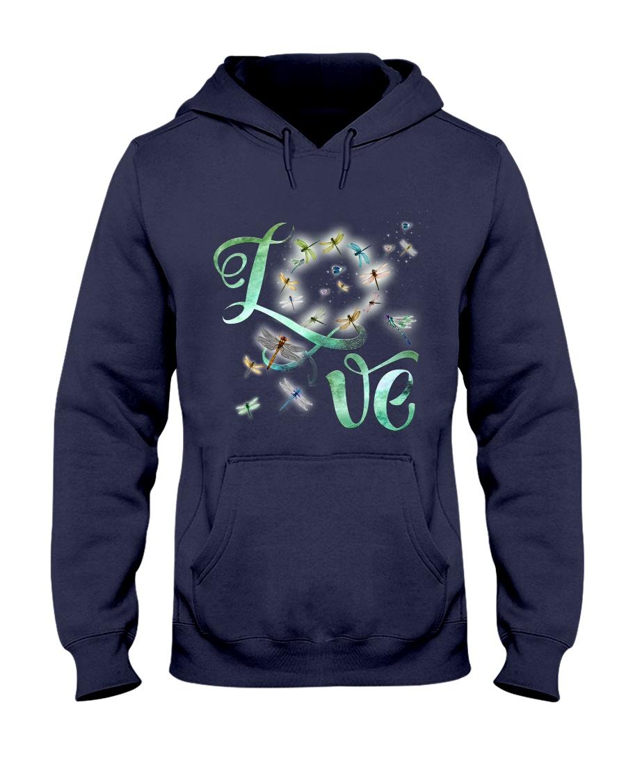 Dragonfly  Love Hooded Sweatshirt