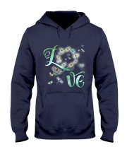 Dragonfly  Love Hooded Sweatshirt front