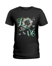 Dragonfly  Love Ladies T-Shirt thumbnail