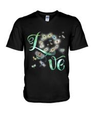 Dragonfly  Love V-Neck T-Shirt thumbnail
