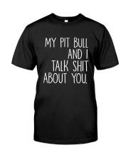 Pit Bull - I and Pit Bull Classic T-Shirt thumbnail
