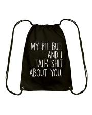 Pit Bull - I and Pit Bull Drawstring Bag thumbnail