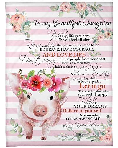 Pig To My Beautiful Daughter