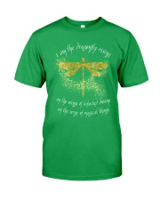 I Am Dragonflies Classic T-Shirt front