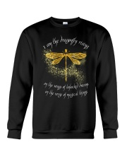 I Am Dragonflies Crewneck Sweatshirt thumbnail