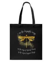 I Am Dragonflies Tote Bag tile