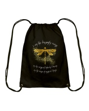 I Am Dragonflies Drawstring Bag tile