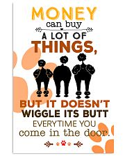 Poodle Money Can Buy A Lot Of Things 11x17 Poster front