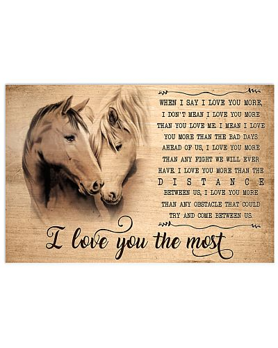 Horse I Love You The Most