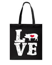 Pigs Love Tote Bag thumbnail