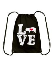 Pigs Love Drawstring Bag thumbnail