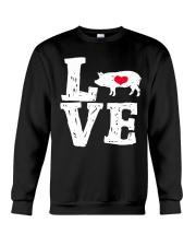 Pigs Love Crewneck Sweatshirt thumbnail