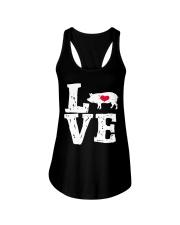 Pigs Love Ladies Flowy Tank thumbnail