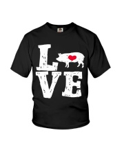 Pigs Love Youth T-Shirt thumbnail