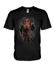 Labrador Beauty V-Neck T-Shirt thumbnail