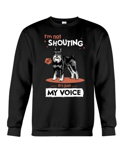 Schnauzer I Love Shouting