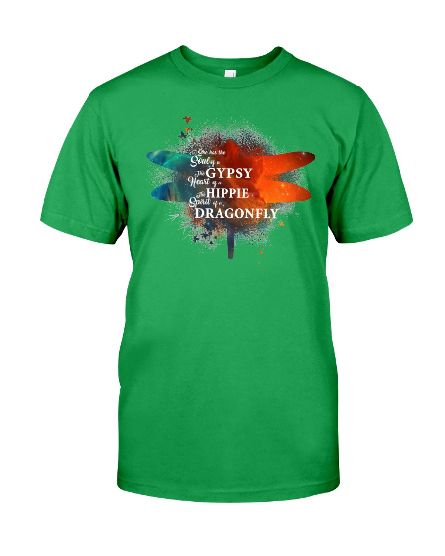 I HAVE THE SPIRIT OF A DRAGONFLY  Classic T-Shirt