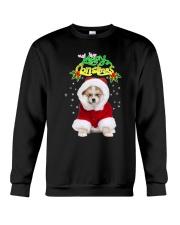 Akita Merry Xmas Crewneck Sweatshirt thumbnail