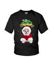 Akita Merry Xmas Youth T-Shirt thumbnail