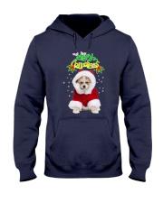 Akita Merry Xmas Hooded Sweatshirt thumbnail