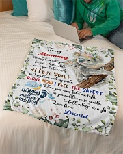 """To My Mummy I've Only Been With You Koala Blanket Small Fleece Blanket - 30"""" x 40"""" aos-coral-fleece-blanket-30x40-lifestyle-front-07"""