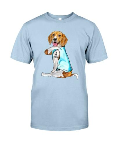 Beagle I Love Mom